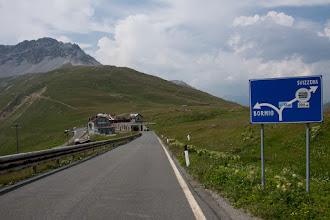 Photo: Kiedyś będzie trzeba spróbować podjazdu od szwajcarskiej strony ;)