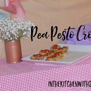 Pea Pesto Crostini