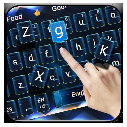Hi tech keyboard theme