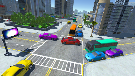 City bus driver & Off Road Bus driver  screenshots 4