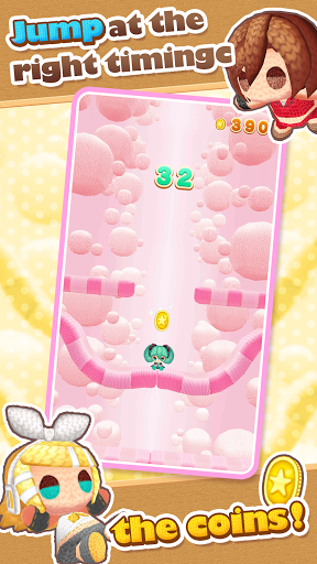 Hatsune Miku Amiguru Jump screenshot 4