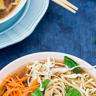 Healthy Miso Noodle Soup.