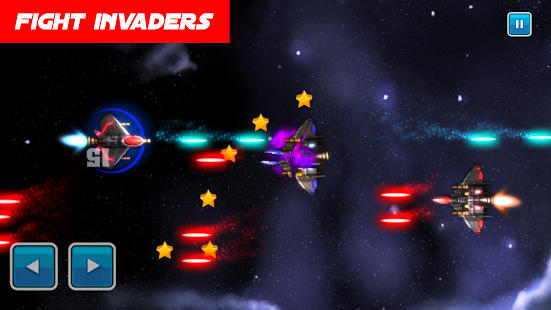 Galaxy Guardian Wars: Asteroids Spaceship Fighting - náhled