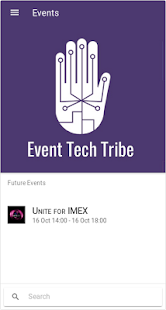 Event Tech Tribe Events - náhled