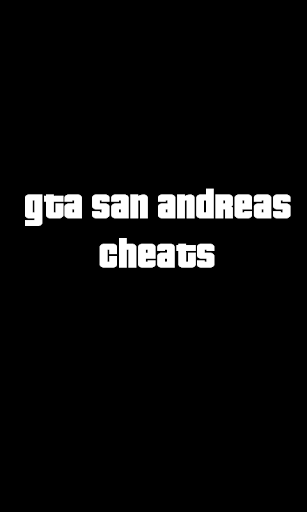 Cheats Gta San Andreas no ads