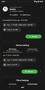 Swift Backup Screenshot