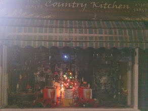 Photo: A hearth warming little display on North Street by the health food shop.