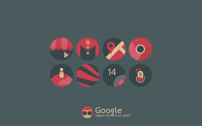 Sagon Circle Icon Pack Screenshot 2