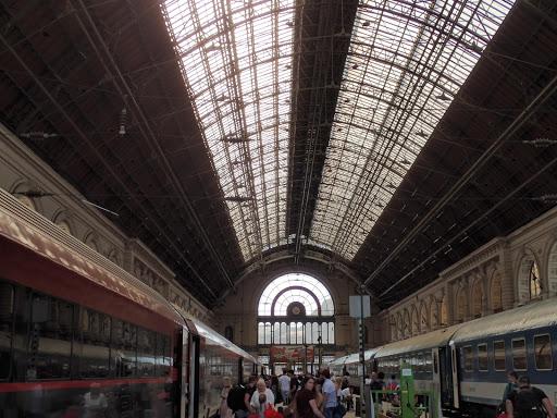 Budapest-Keleti Railway Terminal