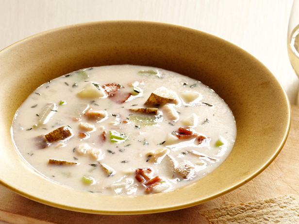 Photo: Get the recipe for New! New England Clam Chowder >> http://ow.ly/h6t1f