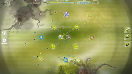 Gelluloid: Bio War Strategy Screenshot 1