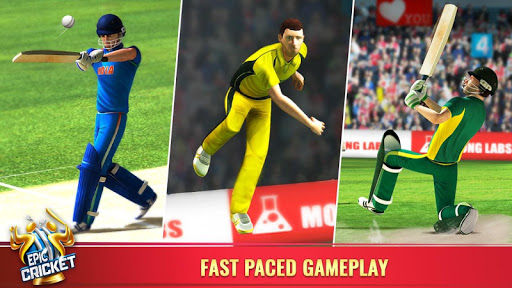 Epic Cricket - Best Cricket Simulator 3D Game  gameplay | by HackJr.Pw 11