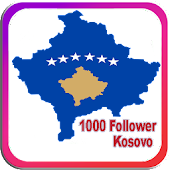 1000 Follower intsa Kosovo
