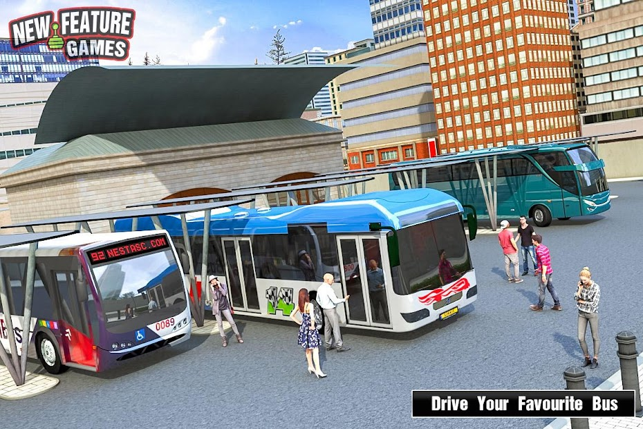 Super Bus Arena: Modern Bus Coach Simulator 2020 Android App Screenshot