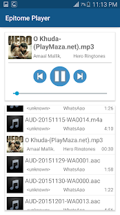 Epitome Music Player- screenshot thumbnail