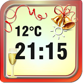 New Year Weather Clock