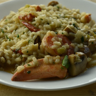 Shrimp and Lobster Risotto.