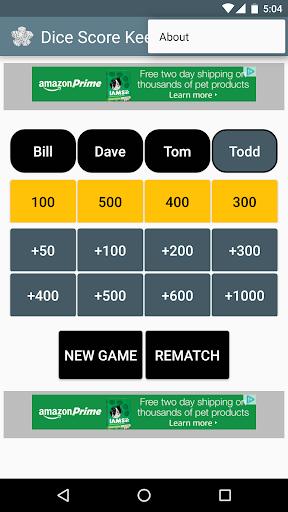 Dice Score Keeper apklade screenshots 2