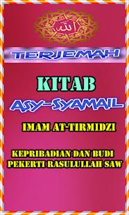 Terjemah Kitab Asy Syamail - náhled