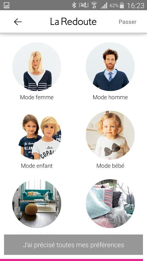 La redoute mode maison applications android sur - Boutique la redoute paris ...