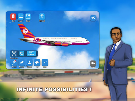 Airlines Painter  Wallpaper 8