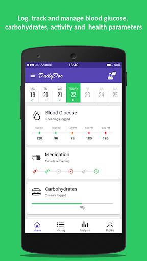 DailyDoc: Diabetes Care App