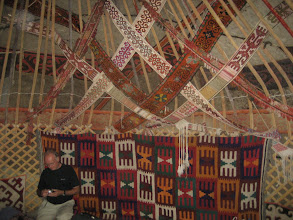 Photo: Yurt interior