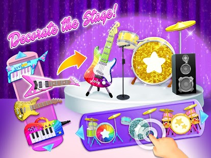 Sweet Baby Girl Pop Stars - Superstar Salon & Show Screenshot