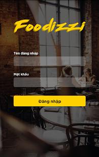 Foodizzi Merchant App - náhled