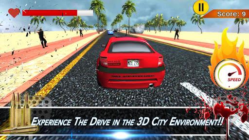 Bloody Car Racing Shooter 3D