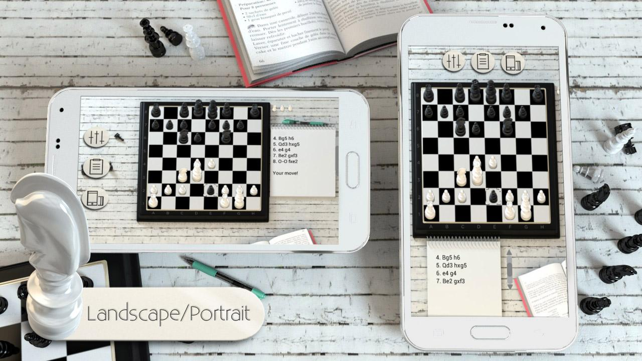 Chess 3D free- screenshot