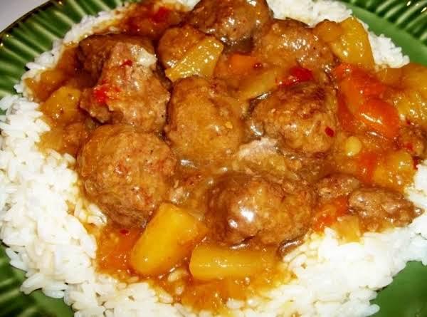 My Hawaiian Meatballs Recipe