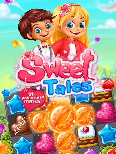 Sweet Tales: Valentine Match - screenshot