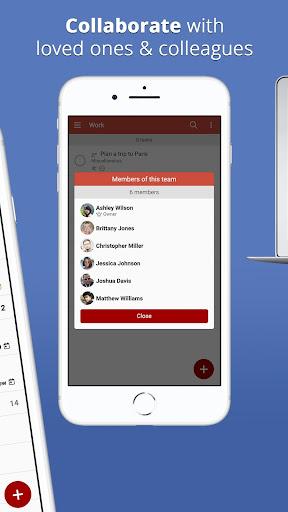 neteek: shared to-do lists, tasks, reminders screenshot 2
