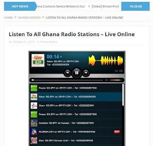 GhanaSky GTV, Adom TV screenshot 5
