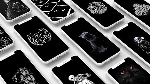 Black Wallpaper 1.1 screenshots 1