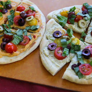 Pesto or Hummus Flatbreads.