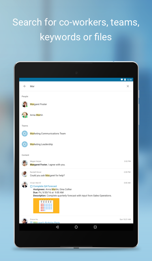 RingCentral Glip- screenshot