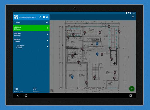 PlanRadar construction app screenshot 8