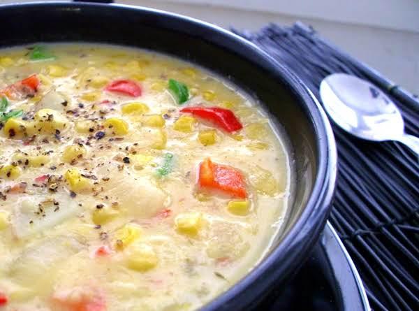 Southwest Chicken Corn Chowder