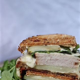 Turkey Apple Brie Panini