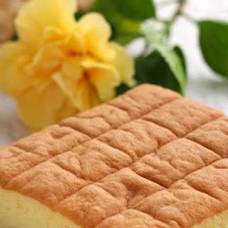 Japanese Cotton Sponge Cake.