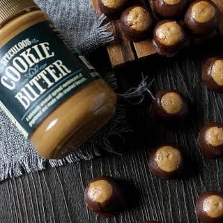 Cookie Butter Buckeye Candies.