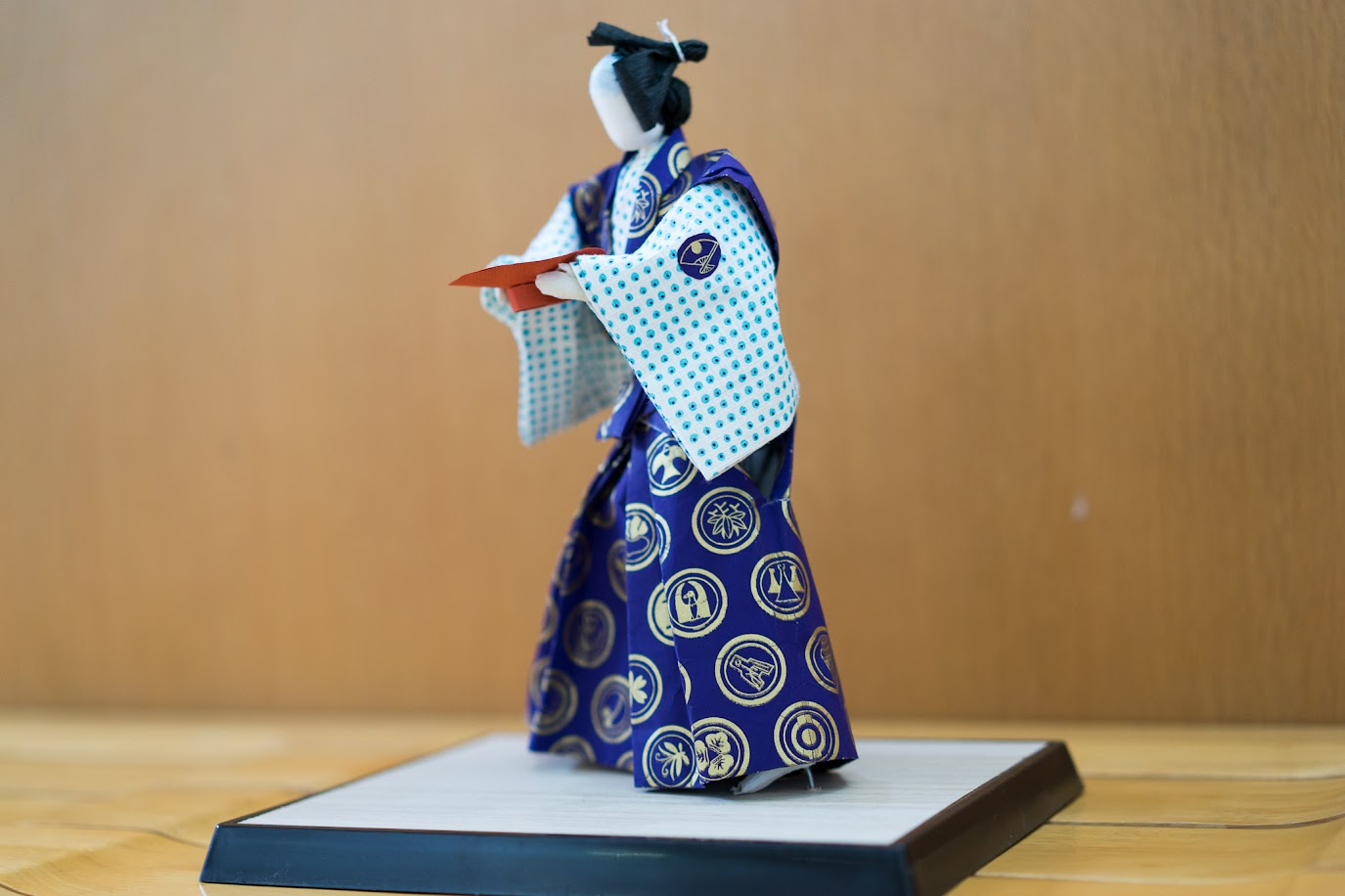 和紙人形:黒田武士