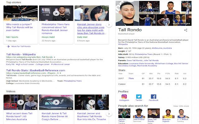 Ben Simmons = Tall Rondo