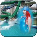 Water Park Photo Frame icon