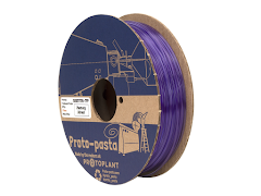 Proto-Pasta Translucent Primrose Purple HTPLA - 1.75mm (0.5kg)