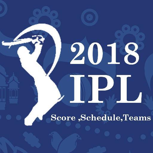 IPL Live 2018 Score,Schedule,Teams