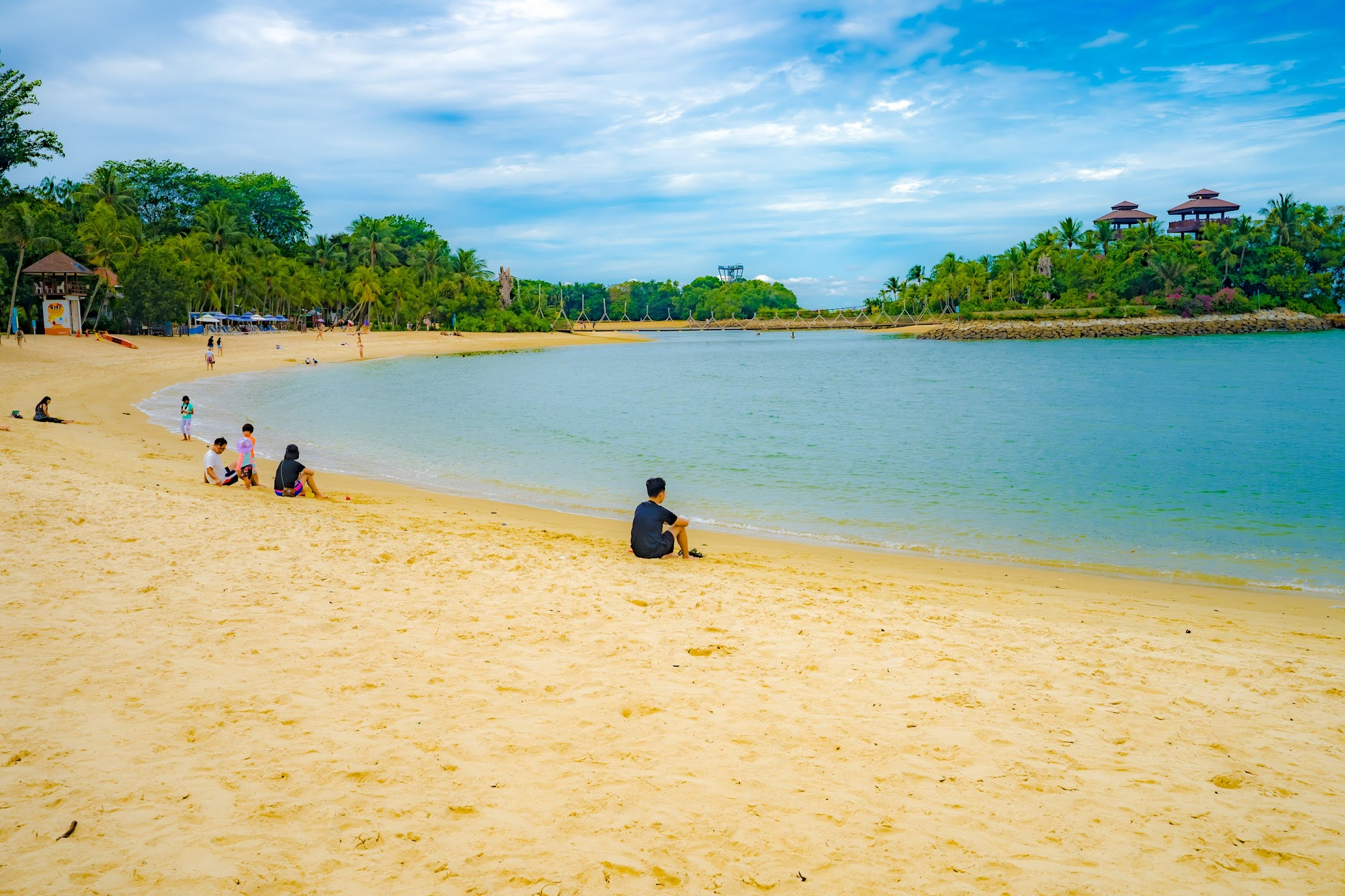 Singapore Sentosa Palawan Beach2