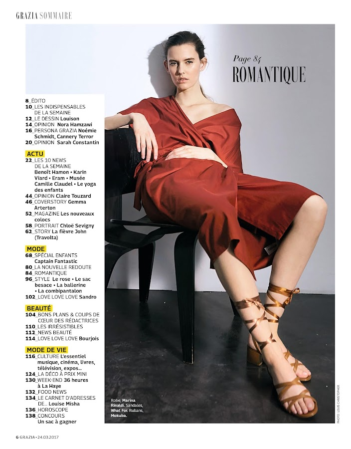 Grazia France- screenshot